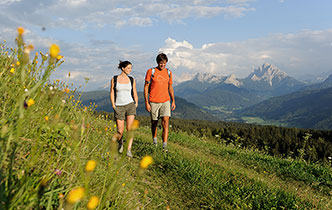 Hiking holidays in the Pustertal valley